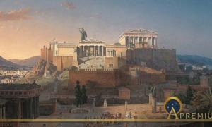 The Acropolis of Athens by Leo von Klenze (1846) (Public Domain)
