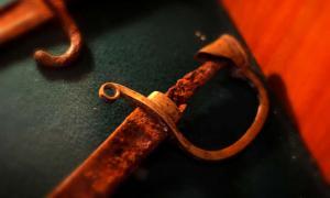Old rusty sword