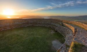 "Overlooking Inch Island from the ""Grainan of Aileach"" ancient stone ring fort, Donegal, Ireland Gareth Wray"