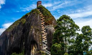 The Rock of Guatapé (El Peñon de Guatapé), Colombia.