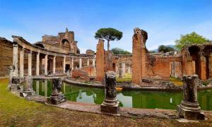 Powerhouse Breakfasting Platform Unearthed At Hadrian's Villa