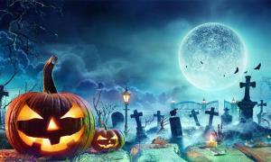 Halloween Spirits Will Be Illuminated By A Rare Hunter's Blue Moon