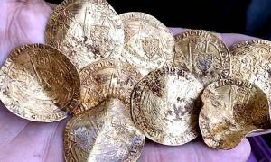 The Hambleden Hoard was found during a metal detectorists four day rally.