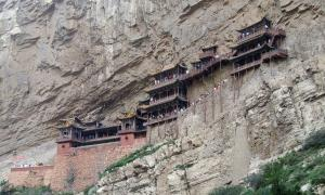 The Hanging Monastery of Mount Heng