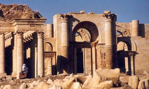 Hatra temples