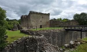 Craignethan Castle.