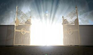 Heavens Gates Opening. Source: Alswart / Adobe.