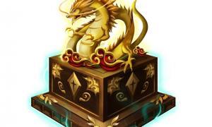 Chinese jade dragon seal (representational)