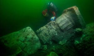 Temple remains have been found at Heracleion