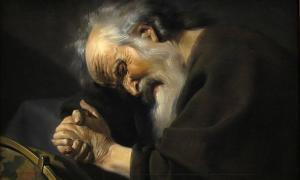 A 17th century painting of Heraclitus, by Johannes Moreelse.
