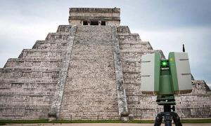 Kukulkan temple pyramid is being surveyed with multiple imaging technologies