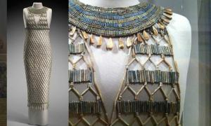 High Fashion of Ancient Egypt: The Bead-Net Dress