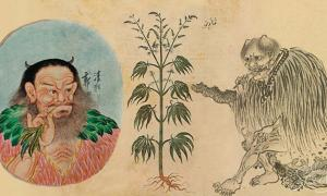 China has a very long history of marijuana use.