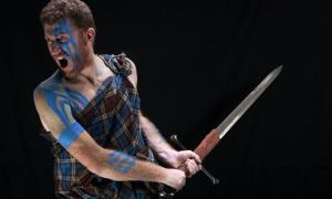 Representative image of highlander sword.   Source: Marko Stamatovic/ Adobe Stock