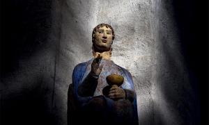 Ancient saint. Credit: Peer Marlow / Adobe Stock