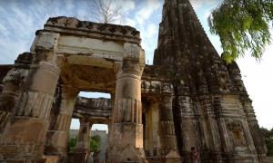 Ancient 1,000 year old Shawala Teja Singh Hindu Temple. Source: Junaid Syed / YouTube Screenshot