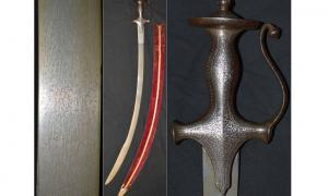 Historic Indian sword
