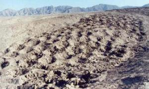 Mile long band of mysterious and unexplained holes in Pisco Valley – Peru.