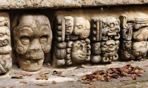 Honduras Mayan city ruins in Copan