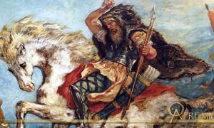 Attila and his Hordes