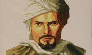 Portrait of the great Moroccan explorer Ibn Battuta.