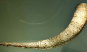 Drinking Horn by Brynjólfur Jónsson of Skarð, South Iceland – 1598