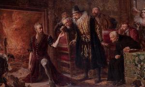 """""""Alchemist Sędziwój"""" by Jan Matejko: alchemist, and pioneer chemis."""