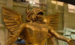 Statue of the god Moloch, Turin Cinema Museum.