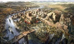 Illustration of Mesopotamia