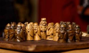 "The Iron Age ""Game of Mercenaries"" likely inspired the popular Viking age board game called 'Hnefatafl.' Source: Olga Makukha /Adobe Stock"