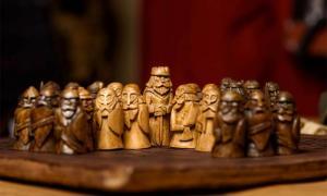 "The Iron Age ""Game of Mercenaries"" likely inspired the popular Viking age board game called 'Hnefatafl.' Source: Olga Makukha /Adobe Stock"