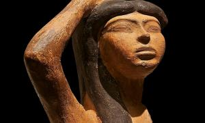 The Egyptian Goddess Isis, Found in India