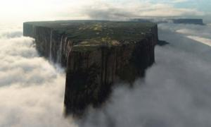 Island in the Clouds: Is Mount Roraima Really A 'Lost World' Where Dinosaurs May Still Exist?