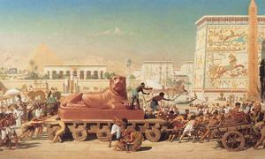 """Israel in Egypt"" by Edward Poynter, 1867"