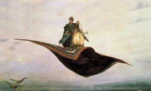 The Tale of Ivan Tsarevich, the Firebird, and the Grey Wolf