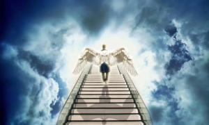 Jacob's ladder, a stairway to heaven