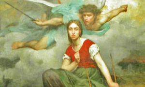 Neurologists speculate that Joan of Arc heard voices because she suffered from epilepsy