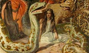 Jörmungandr, the World Serpent
