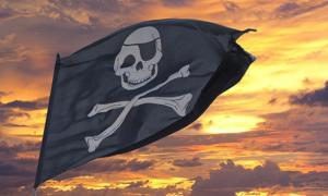Pirate flag.