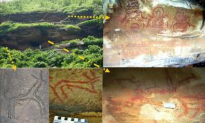 Kaimur Range Rock Art - India