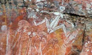 Aboriginal rock art at Nourlangie, Kakadu