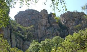 Tsodilo Hills in Northwestern Botswana.