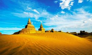 The ruins of Khara Khoto in the Gobi Desert. Source: Wirestock /Adobe Stock