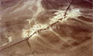 The Khatt Shebib wall.