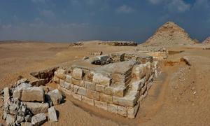 Panorama of the tomb of Khentkaus III.