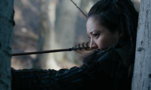 Warrior Khutulun in the series Marco Polo