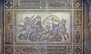 The Kidnapping of Europa Mosaic, the Zeugma Mosaic Museum, Gaziantep, Turkey