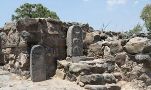 The new find city gate is thought to be centuries older than this previously existing gate at Bethsaida.                Source: CC BY 3.0