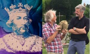 King Edward II's Stone Head Unearthed at British Abbey