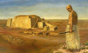 Ur-Shulgi. King Shulgi is credited with the completion of the Great ziggurat of Ur.